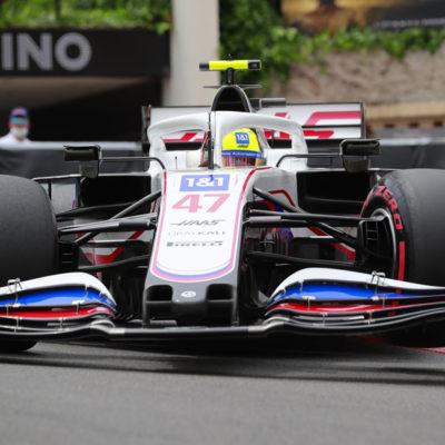 Mick Schumacher Formel 1 Monaco GP 2021 Rennen