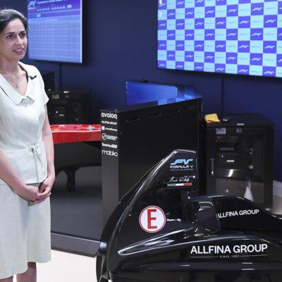 Racing Unleashed CEO Monisha Kaltenborn Simracing