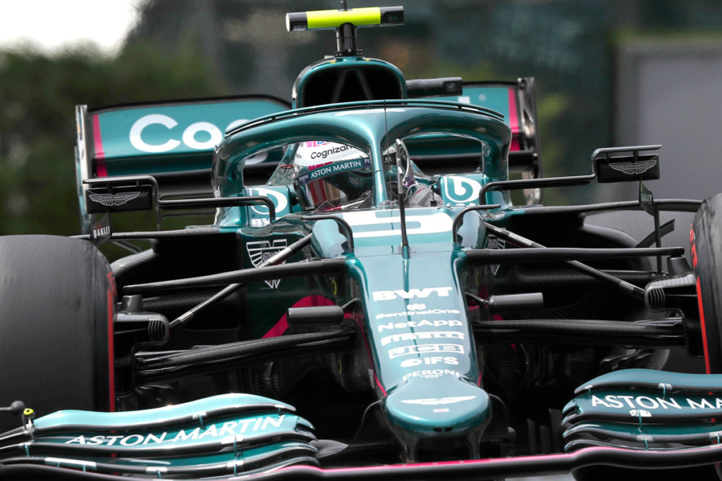Sebastian Vettel Formel 1 Aston Martin Monaco GP 2021