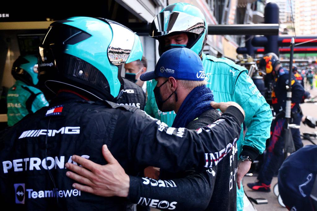 Formel 1 Valtteri Bottas Monaco GP Mercedes 2021