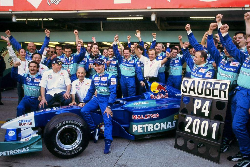 Formel 1 Nick Heidfeld 2001
