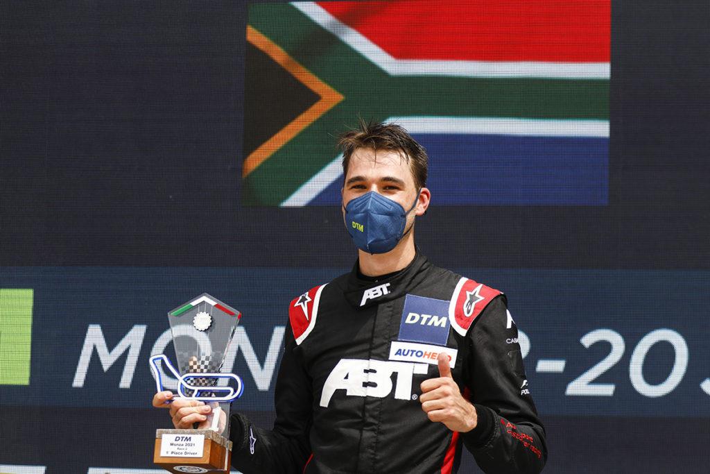 Kelvin van der Linde DTM Monza 2021
