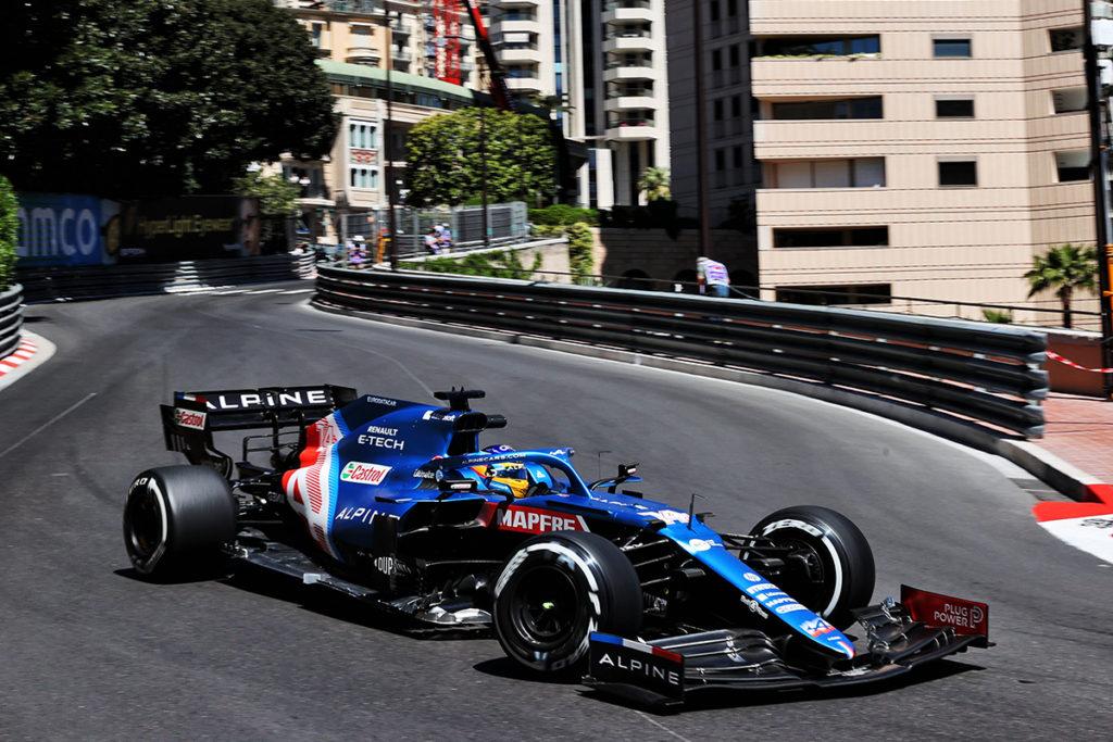 Fernando Alonso Formel 1 Alpine 2021