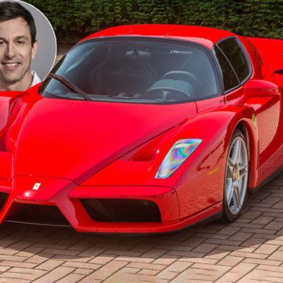 Ferrari Enzo. Toto Wolff