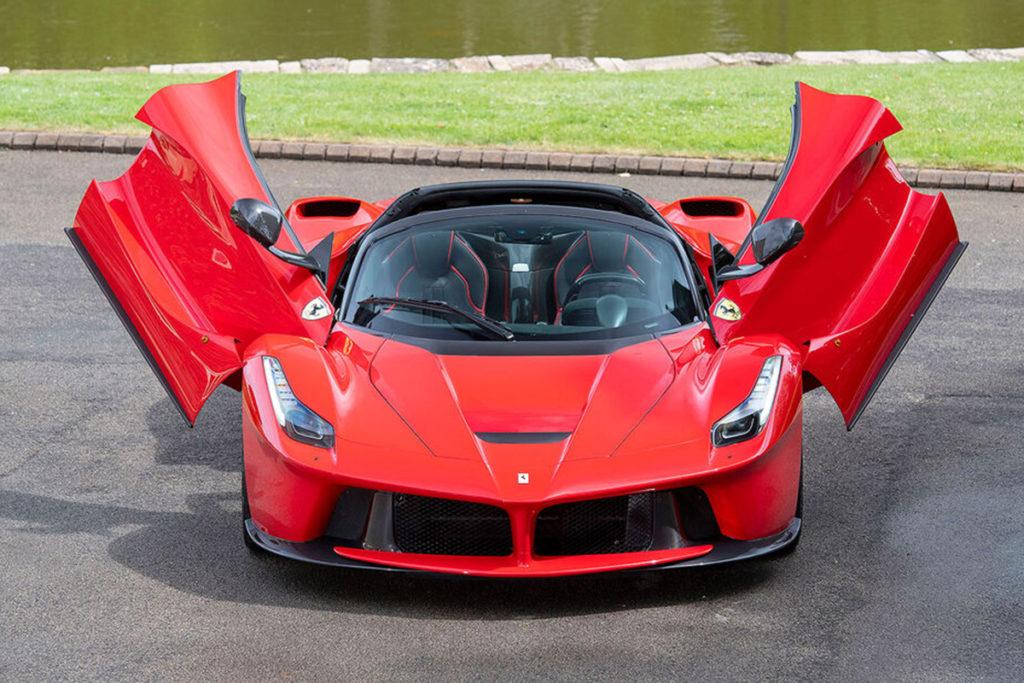 Ferrari LaFerrari Aperta Toto Wolff