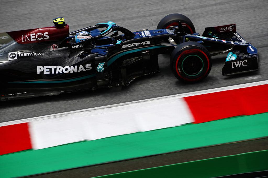 Formel 1 Valtteri Bottas Mercedes Steiermark GP Spielberg Quali 2021 In der Quali am Freitag vor dem Sprintqualifying sind nur weiche Reifen erlaubt