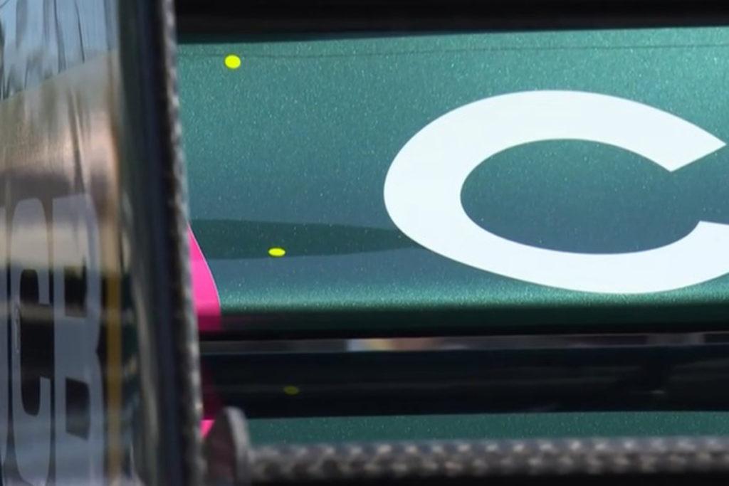 Formel 1 FIA Heckflugel Markierung Aserbaidschan GP