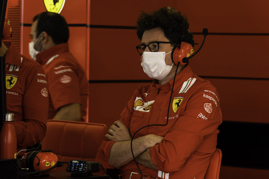 Formel 1 Ferrari Binotto 2021