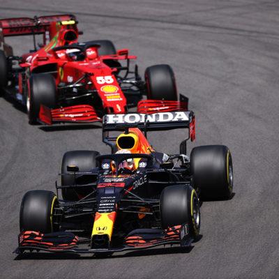 Formel 1 Red Bull Ferrari Portugal GP 2021