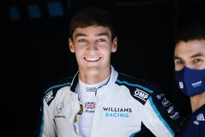 Formel 1 George Russell Williams Mercedes 2021