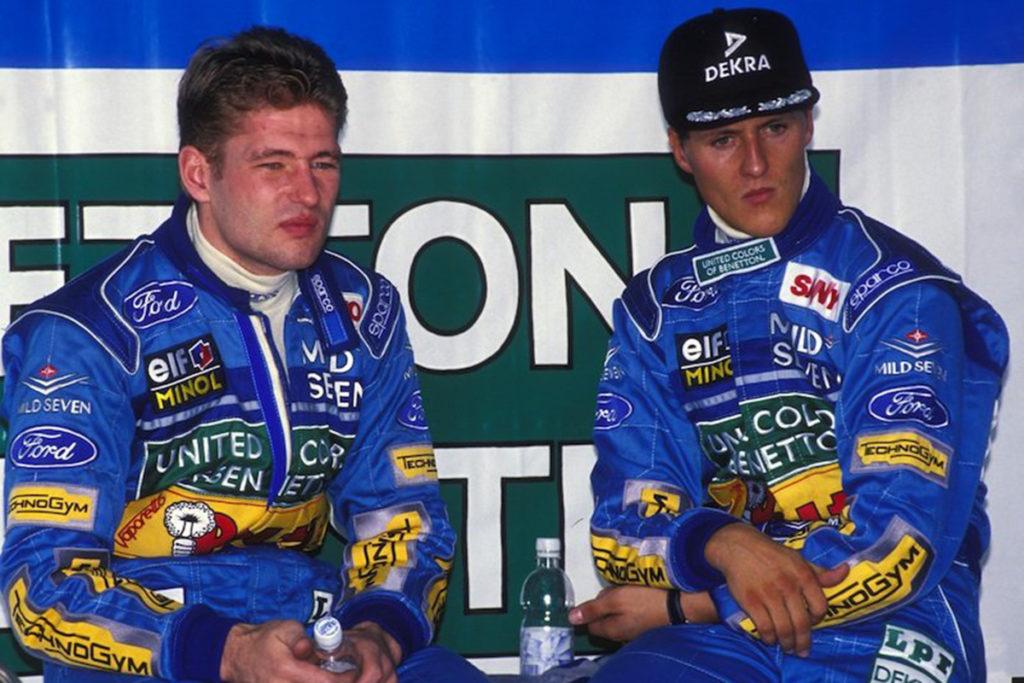 Formel 1 Jos Verstappen Michael Schumacher 01