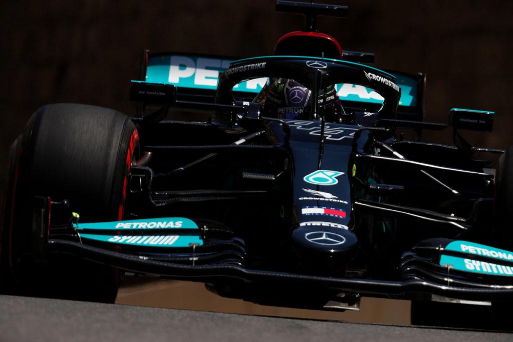 Formel 1 Lewis Hamilton Mercedes Aserbaidschan GP 2021 FP2