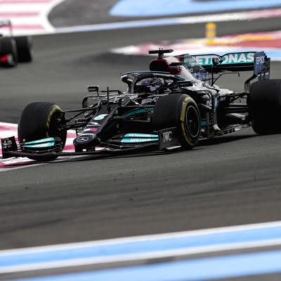 Formel 1 Lewis Hamilton Mercedes Frankreich GP 2021 Rennen