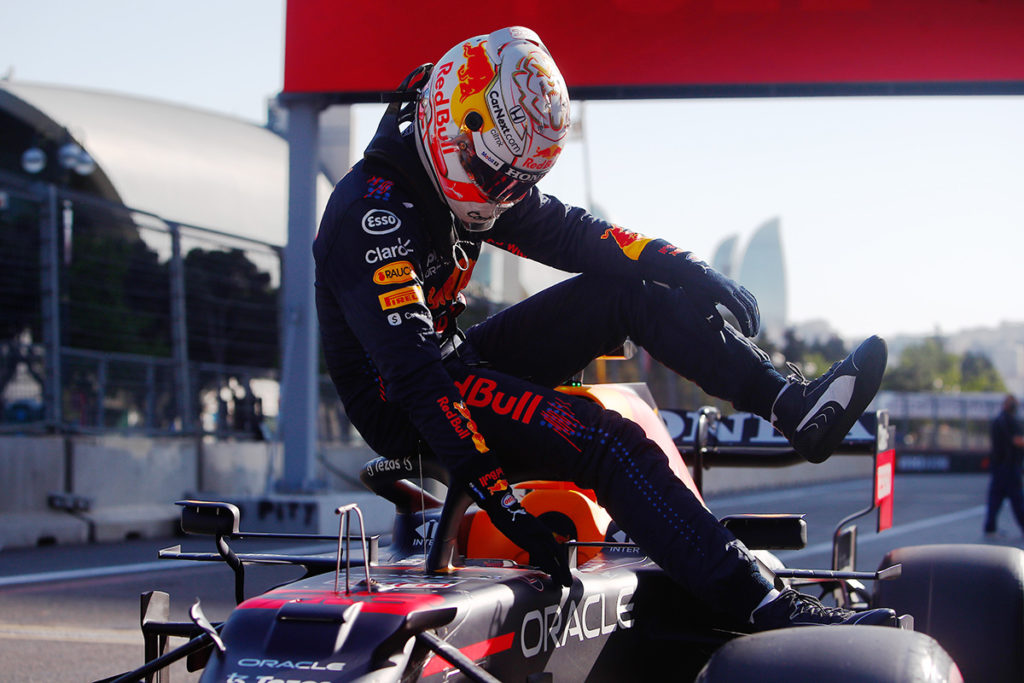 Max Verstappen Formel 1 Aserbaidschan GP Quali 2021