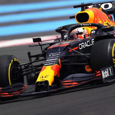 Formel 1 Max Verstappen Red Bull 2021 Frankreich GP Rennen