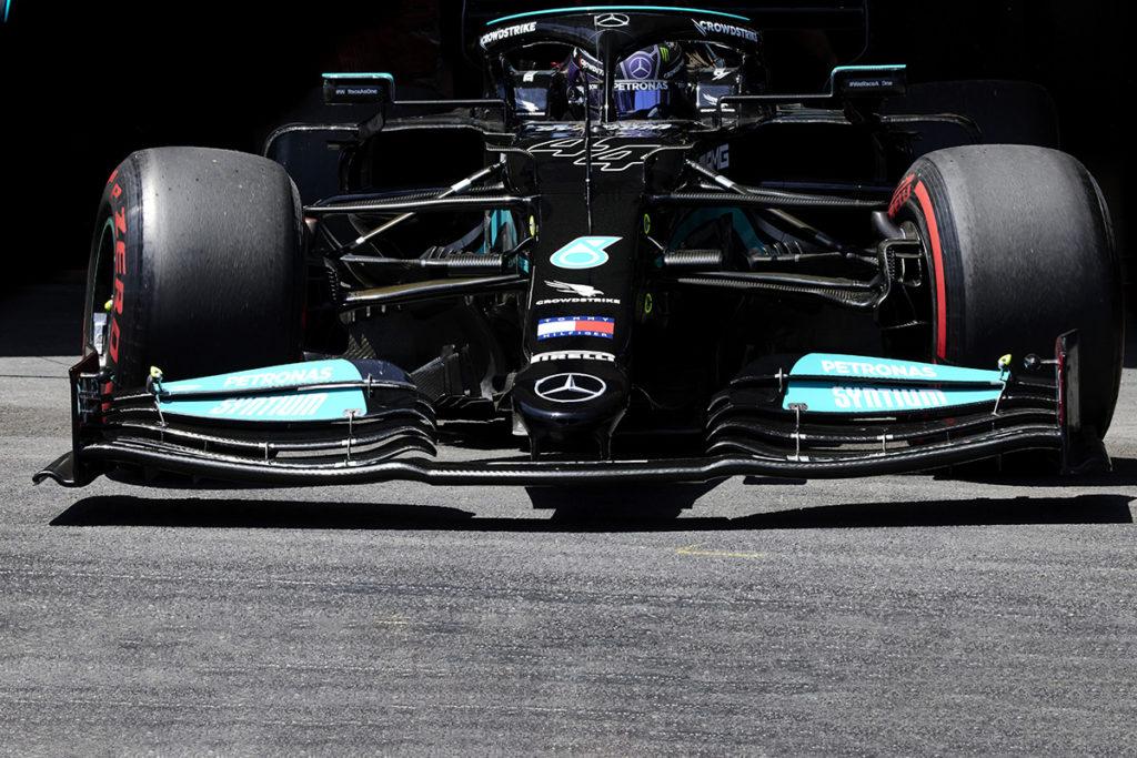 Lewis Hamilton Formel 1 Mercedes 2021 Frankreich GP