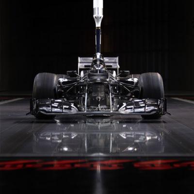 Formel 1 Mercedes Windkanal