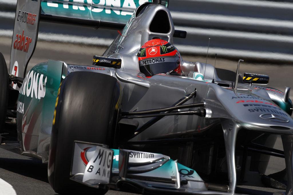 Formel 1 Michael Schumacher Mercedes 2011