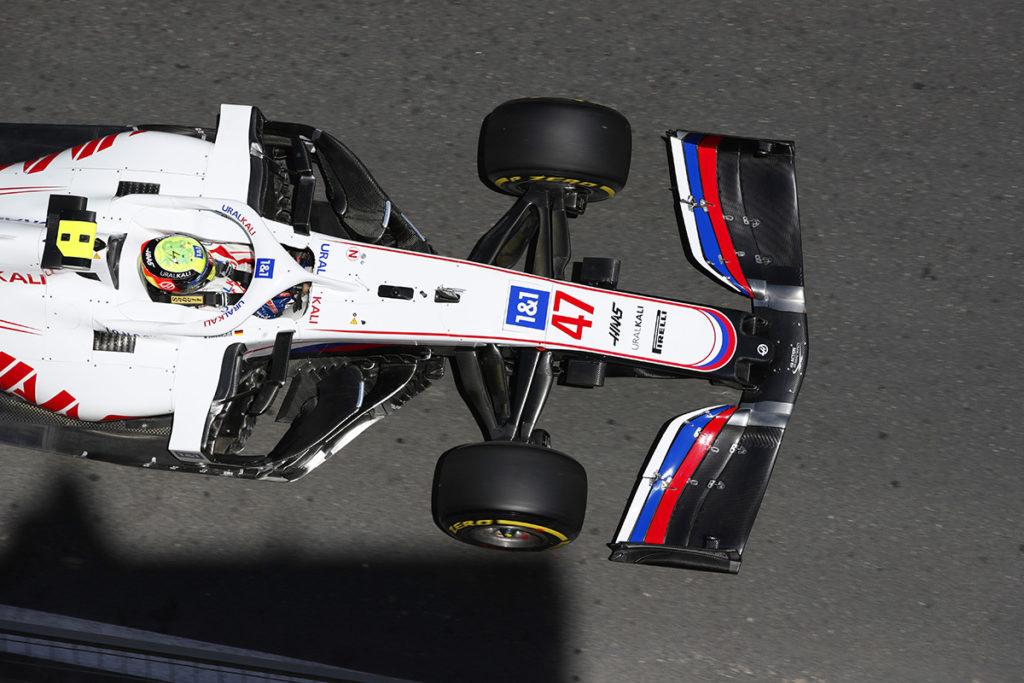 Mick Schumacher Formel 1 Haas Aserbaidschan GP 2021 Quali
