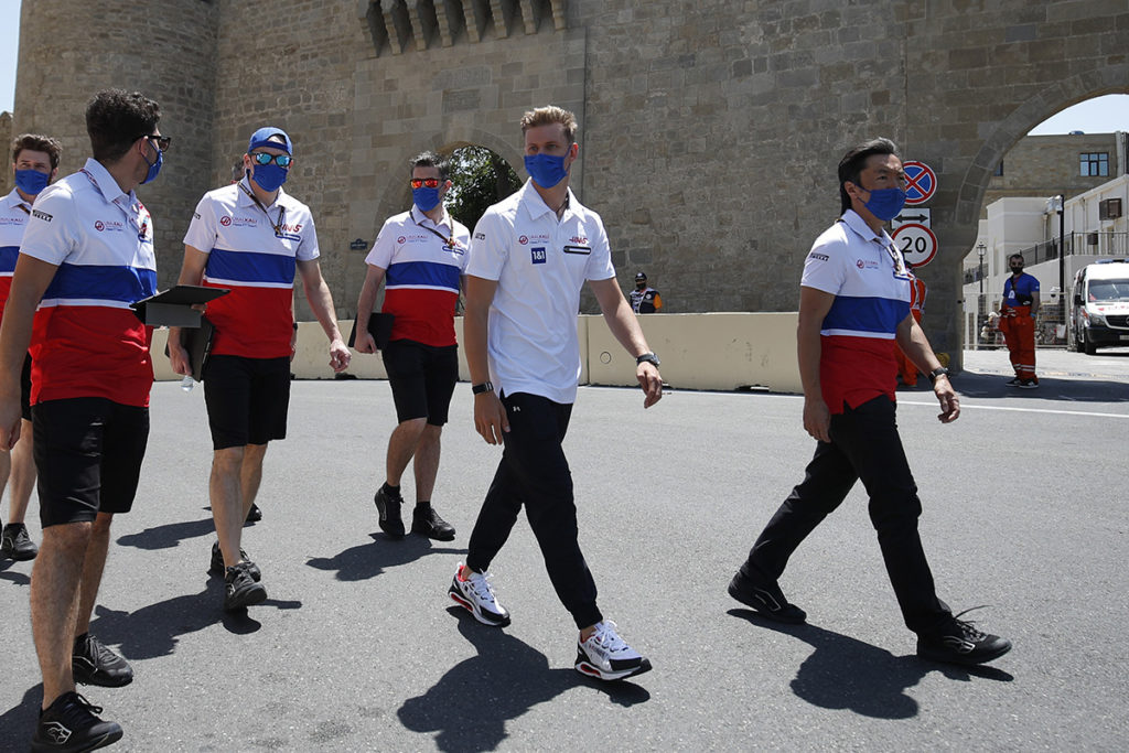 Formel 1 Mick Schumacher Baku Azerbaijan GP 2021