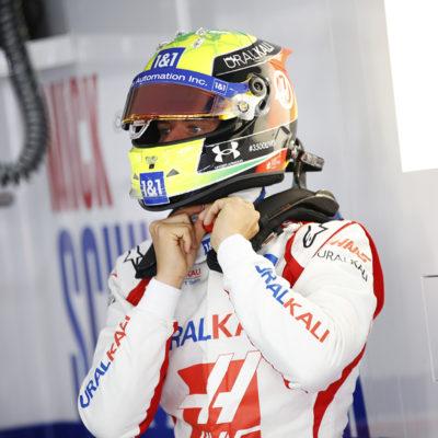 Formel 1 Mick Schumacher Haas Frankreich GP 2021 FP2