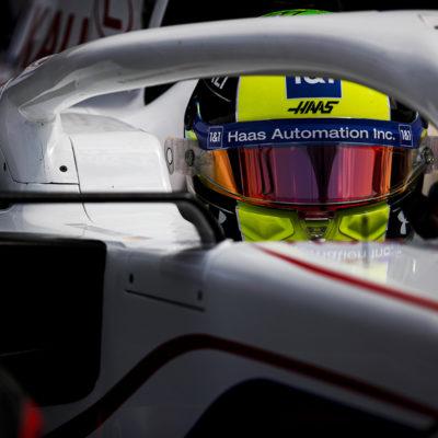 Formel 1 Mick Schumacher Haas Frankreich GP 2021 Rennen