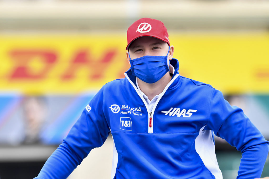 Formel 1 Nikita Mazepin Haas Frankreich GP 2021 Rennen