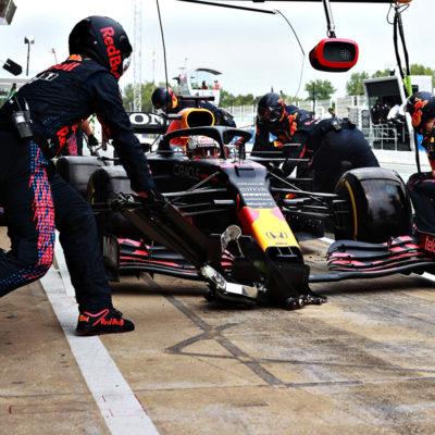 Formel 1 Red Bull Pitstop 2021 Verstappen