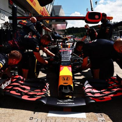Formel 1 Red Bull Boxenstopp Spielberg 2021