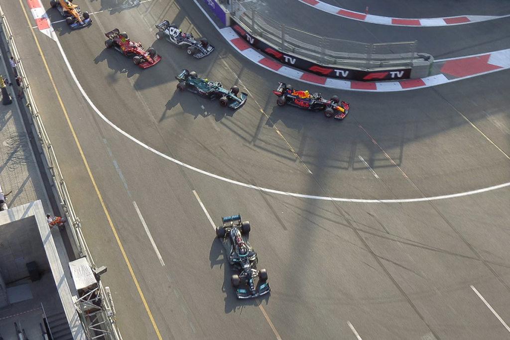 Formel 1 Restart Aserbaidschan GP 2021 Race