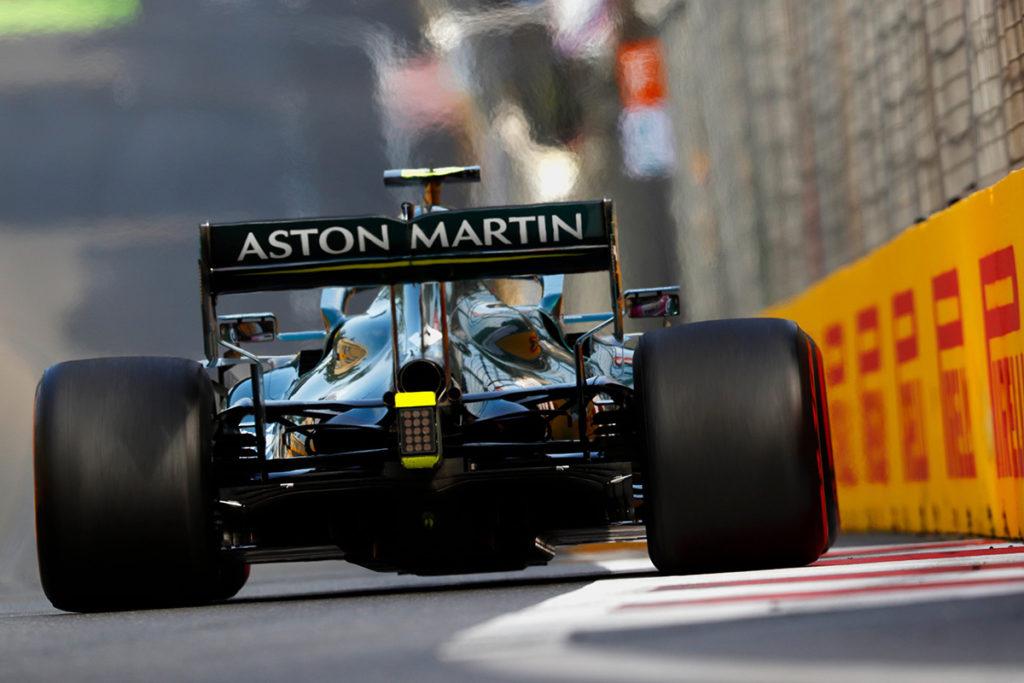 Formel 1 Sebastian Vettel Aserbaidschan GP 2021 Race