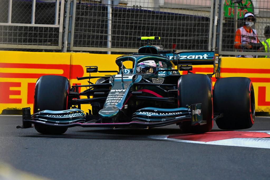 Formel 1 Sebastian Vettel Aserbaidschan GP 2021 Race 3 2