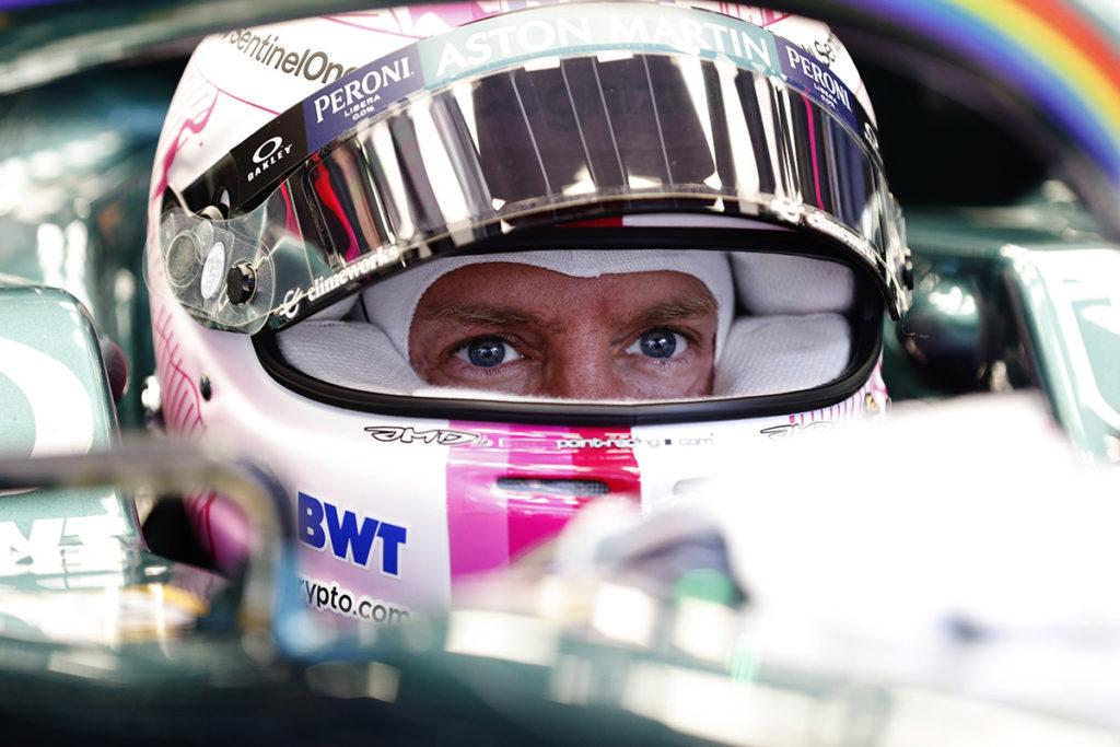 Formel 1 Sebastian Vettel Aston Martin Spielberg Steiermark GP 2021