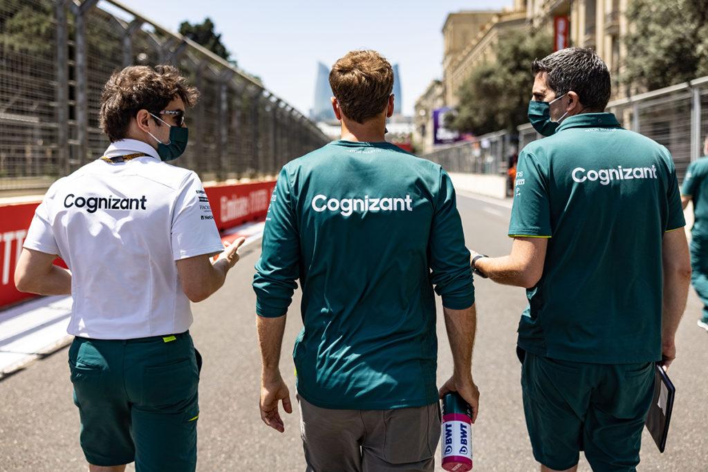 Formel 1 Sebastian Vettel Aston Martin Aserbaidschan GP 2021