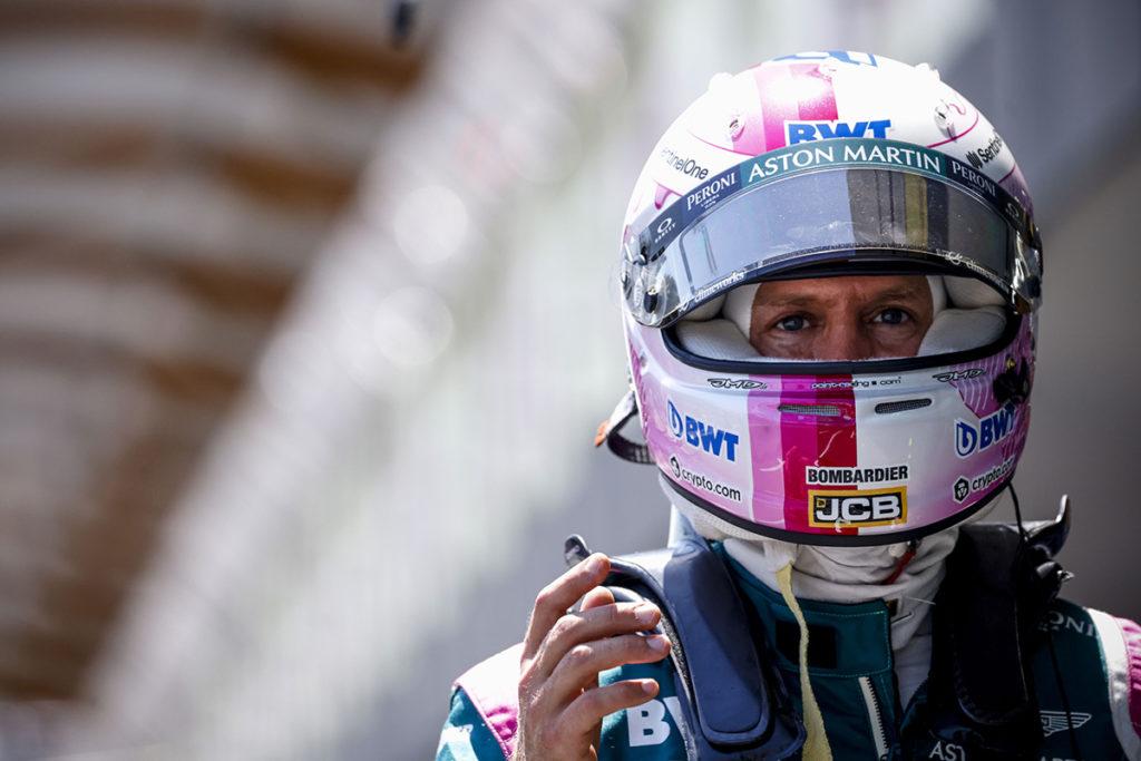 Sebastian Vettel Formel 1 Aserbaidschan GP 2021 Quali