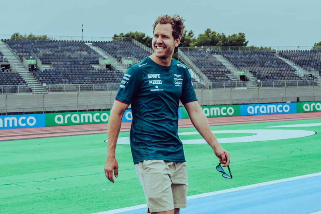Formel 1 Sebastian Vettel French GP 2021 3 2