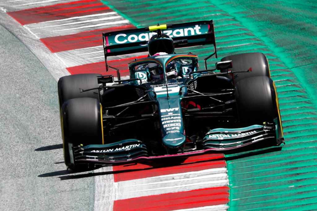 Formel 1 Sebastian Vettel Steiermark GP 2021 Spielberg Rennen 02