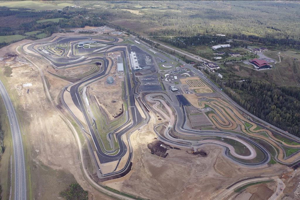Formel 1 St Petersburg Autodrom Igora Drive