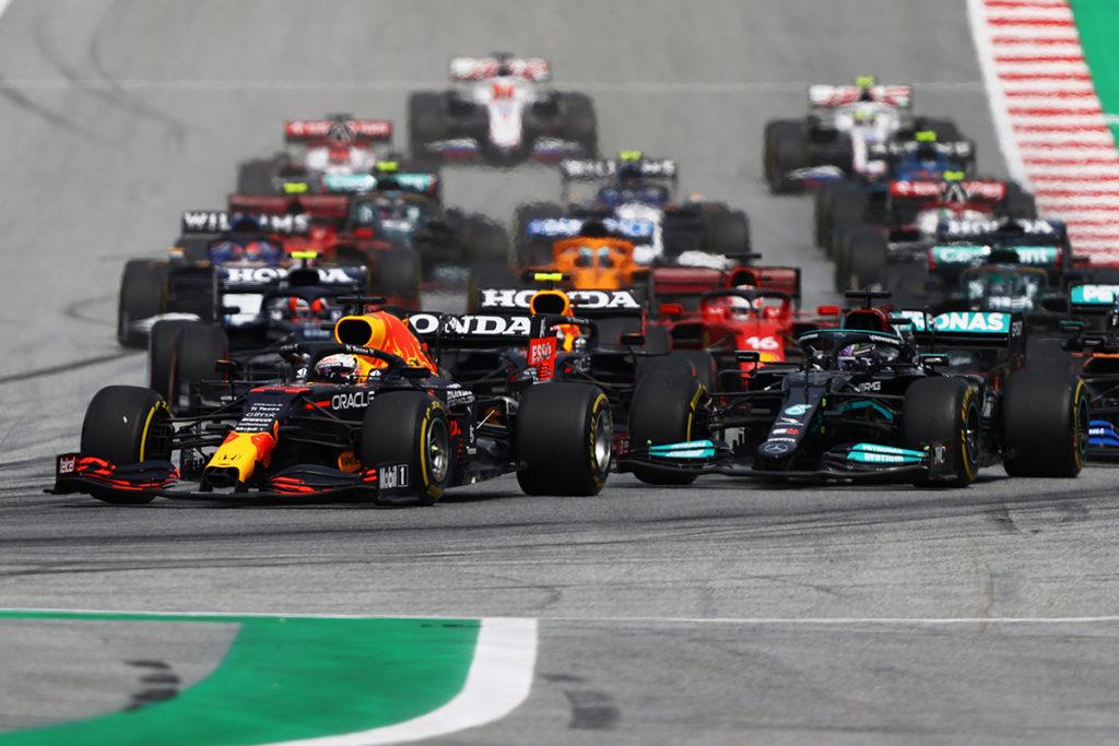 Formel 1 Steiermark GP 2021 Start Spielberg 3 2