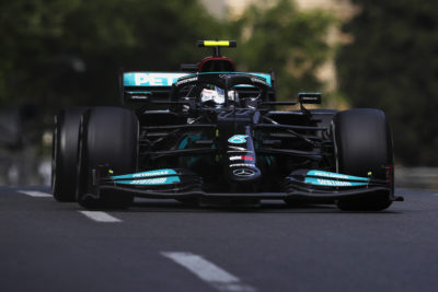 Formel 1 Valtteri Bottas Mercedes Aserbaidschan GP 2021