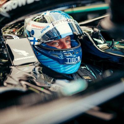 Formel 1 Valtteri Bottas Mercedes French GP 2021