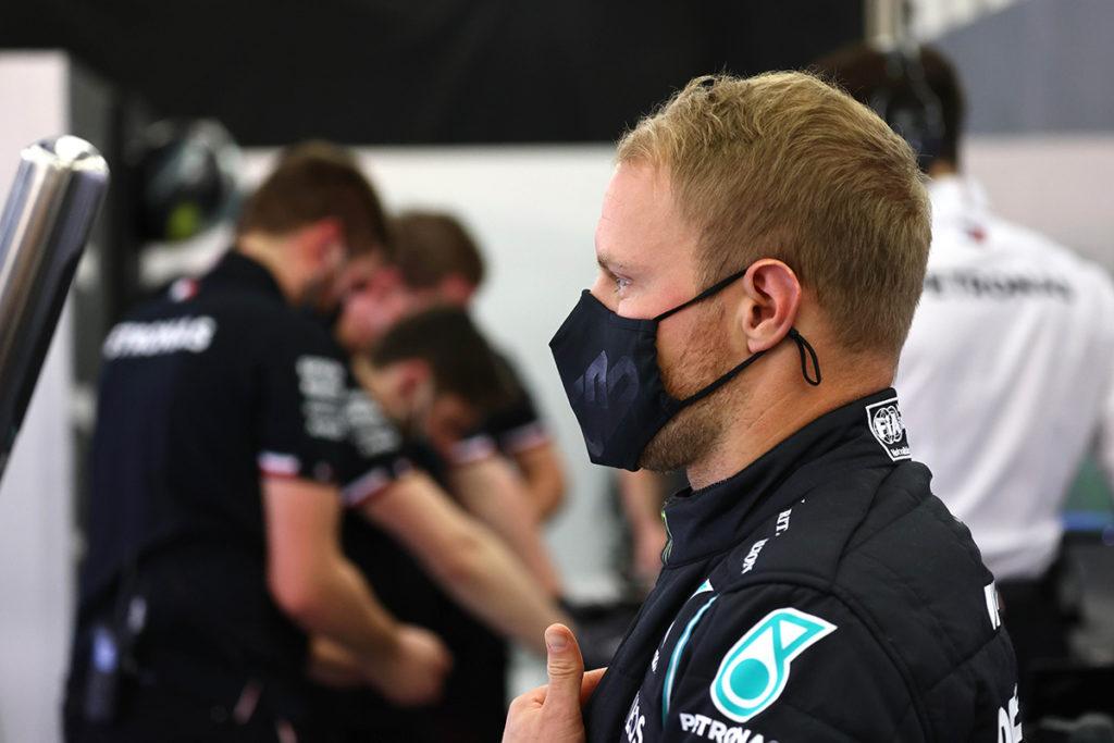 Formel 1 Valtteri Bottas Mercedes Frankreich GP 2021