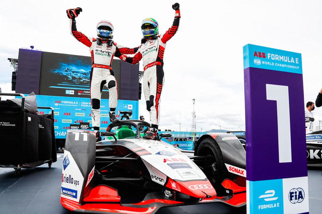 Formel E Audi Mexiko Rast di Grassi 2021