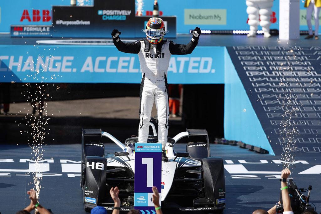 Formel E Eduardo Mortara Mexiko ePrix 2021