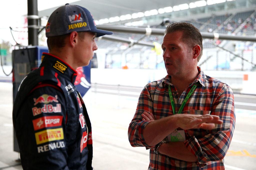 Jos Verstappen Max Verstappen Formel 1 Suzuka 2014