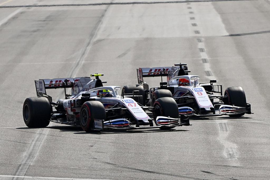 Mazepin Mick Schumacher Formel 1 Aserbaidschan GP 2021