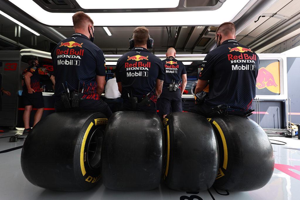 Formel 1 Red Bull Pirelli Reifen 2021
