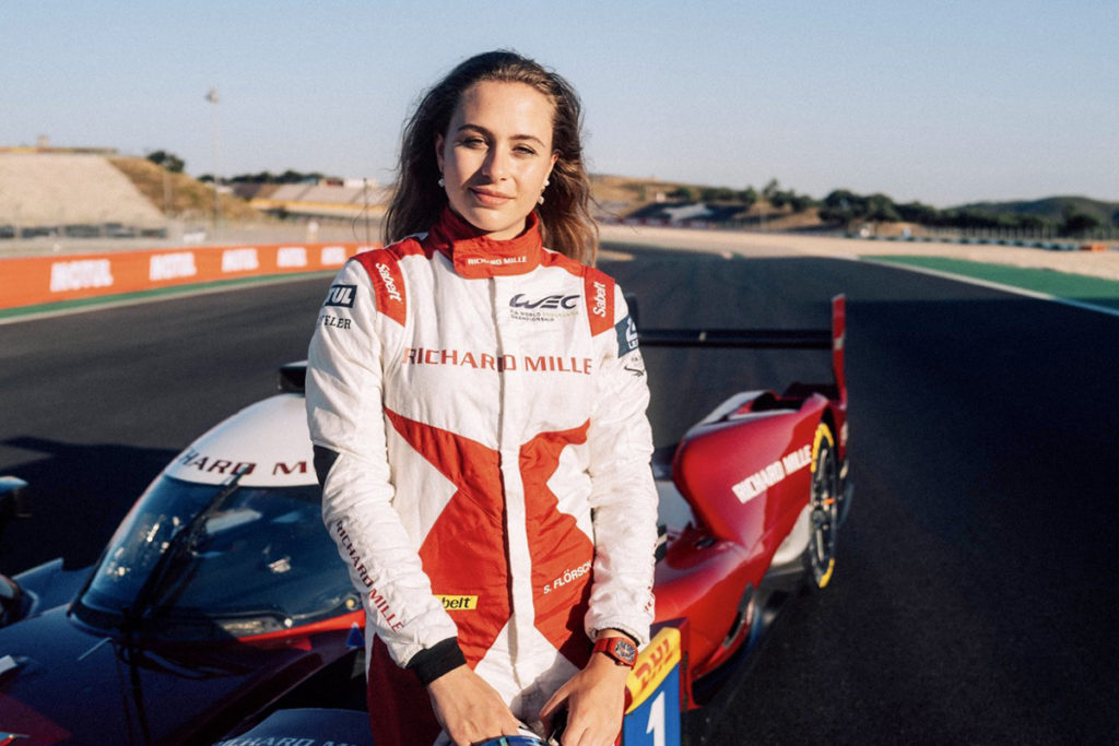 Sophia Floersch WEC 2021