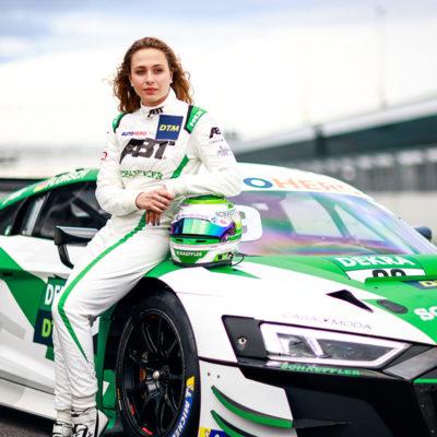 DTM Sophia Flörsch Test Lausitzring 2021