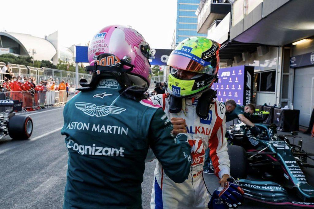 Sebastian Vettel, Mick Schumacher, Baku, Formel 1